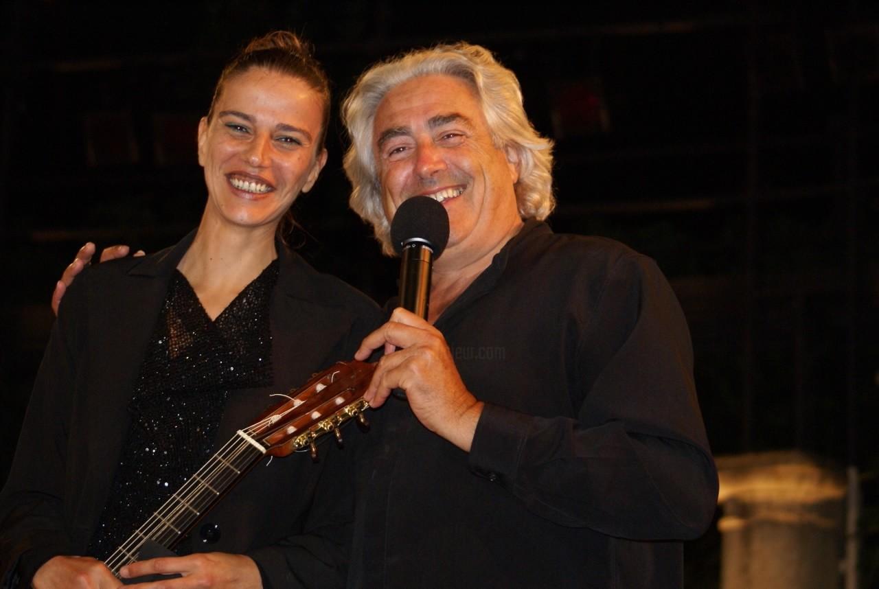 Carmen Martinez - Concert foll'en jazz, Rotary Club de Saint Tropez Theatre de Verdure