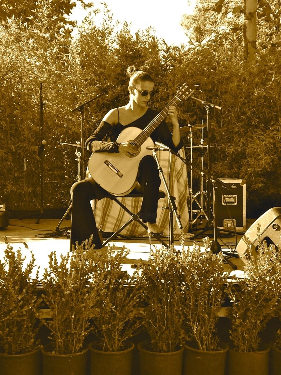 carmen martinez - Concert Salon de Jardin, pepinerie Derbez, Saint Tropez