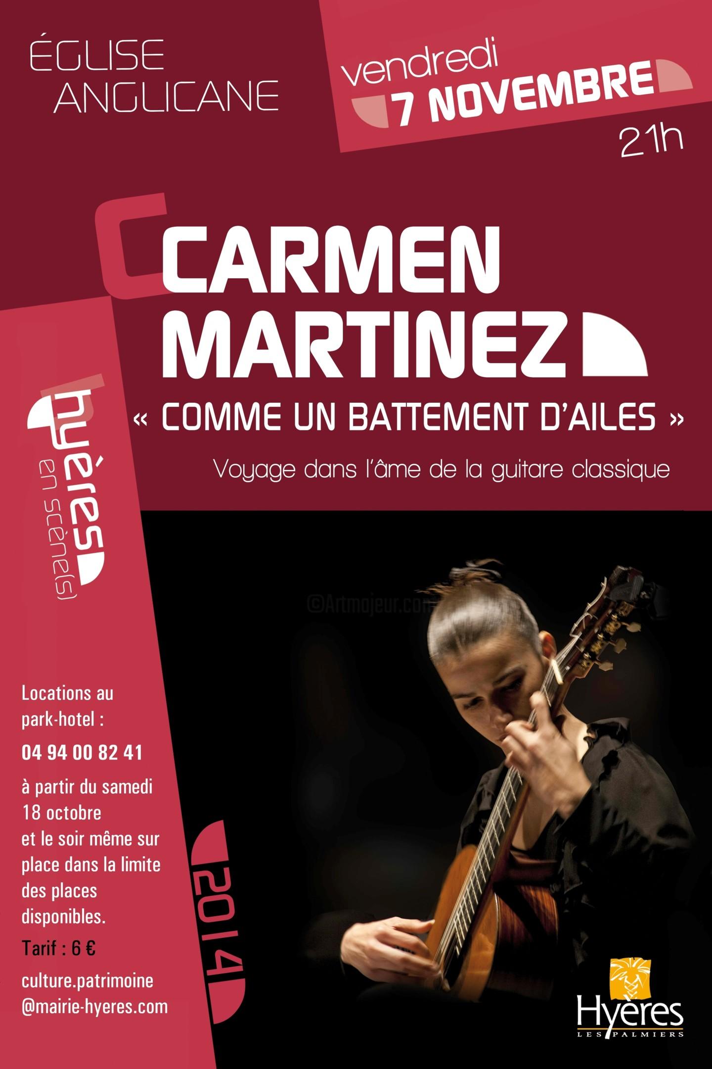 carmen martinez - Prochain Concert