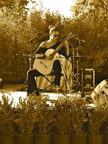 Concert Salon de Jardin, pepinerie Derbez, Saint Tropez